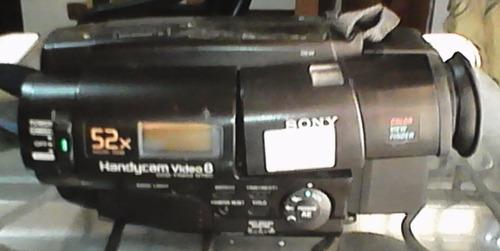 video camara handycam sony 52x digital zoom y sus accesorios