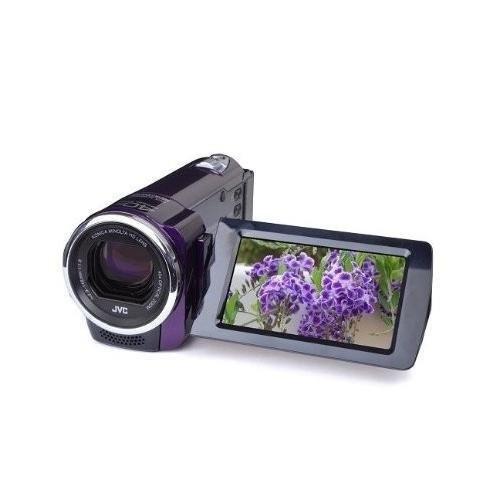 video camara jvc gze10vus full hd 1080p everio purple