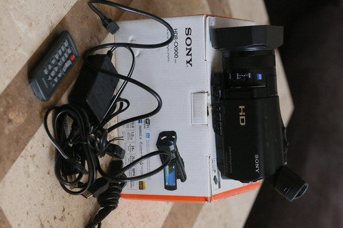 video camara profesional sony hdr cx900