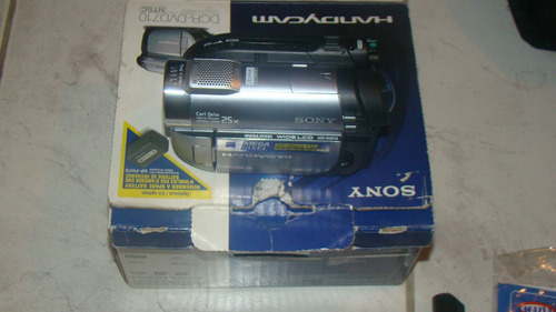video camara sony handycam hibrida dvd memory stick