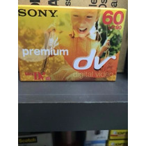 Cinta Filmadora Sony Mini Dv Premium Digital Video 60 Lp 90