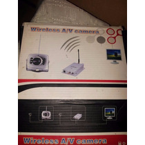 Camara Mini Wireless A/v