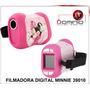 Filmadora Digital Minnie Para Niños Memoria Sd Oferta Dit