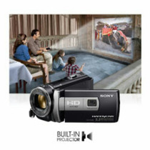 Filmadora Proyectora Sony Handycam Model Hdr-pj 200