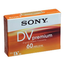 Sony Dvm60 Minidv Digital Video Cassette