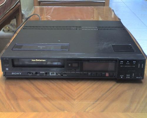 video casetera sony super beta max sl-hfr70