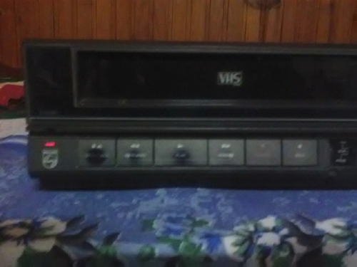 video casetera vhs philips usada