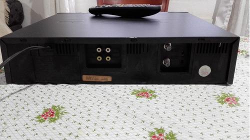 video cassete cce vcr-90x 4 cabeças controle remoto  zerado