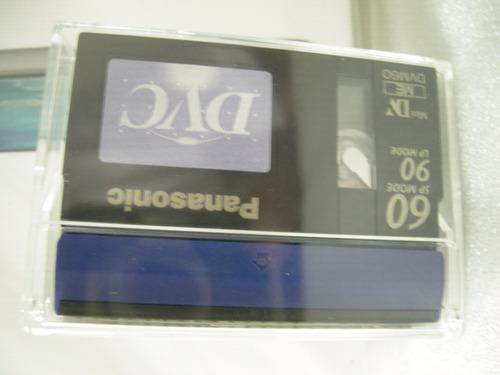 video cassettes digital panasoni mini dv 60min