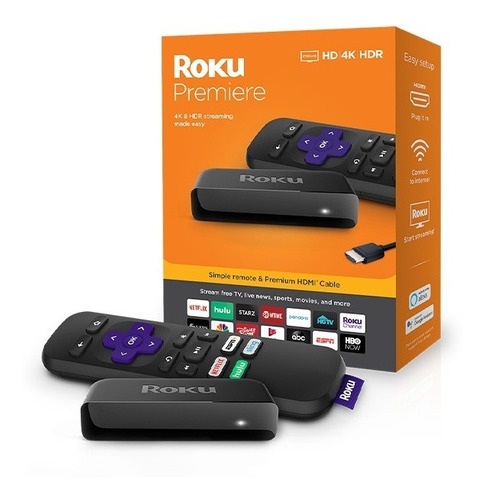 video cast roku premiere 4k   hdmi hd 3920r
