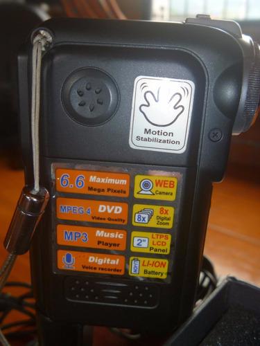 video càmara genius de 6.6 mp, dvd, mp3
