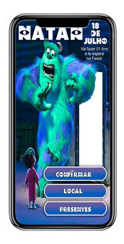 vídeo convite 100% interativo