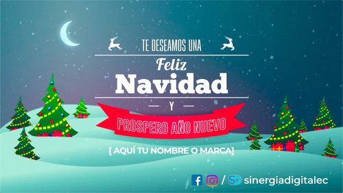 video de navidad para enviar a tus contactos