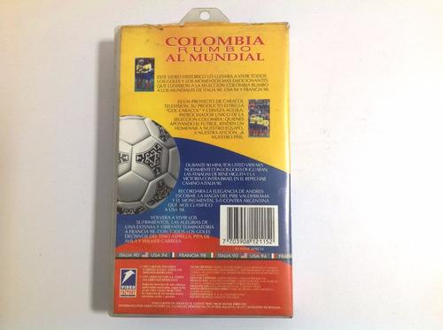 video documental colombia rumbo al mundial vhs