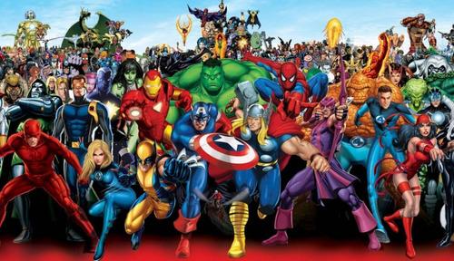 vídeo en 3d para cumpleaños de niños super heroes