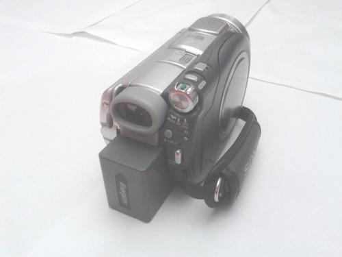 video filmadora camara hd sony handycam dcr-dvd 505