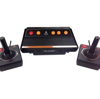 vídeo game atari flash back 7 - 101 jogos