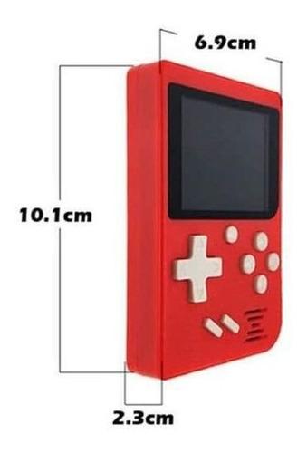 vídeo game box retro clássico super portátil 400 jogos