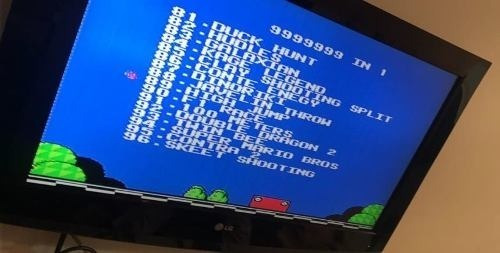 video game jogo retro polystation 3 nes super mario 999 jg