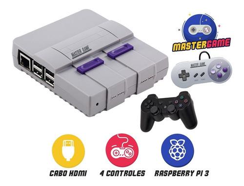 video game master game 8mil jogos 2 controles envio imediato