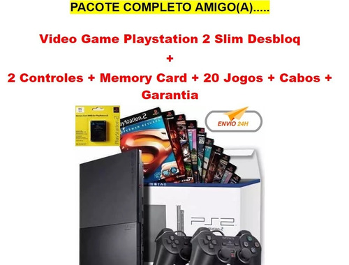 video game playstation 2 super barato no mercado livre