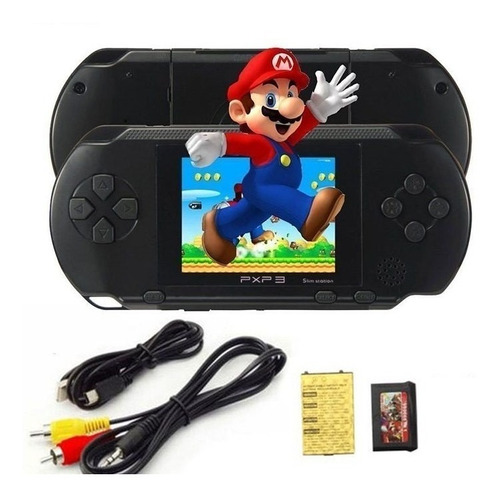 video game portatil 16 bit pxp3 frete gratis 10mil jogos