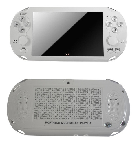video game portátil + de 10mil jogos player mp3 mp4 mp5 pmp
