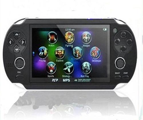 video game portátil multimedia mp3 mp4 mp5 psp