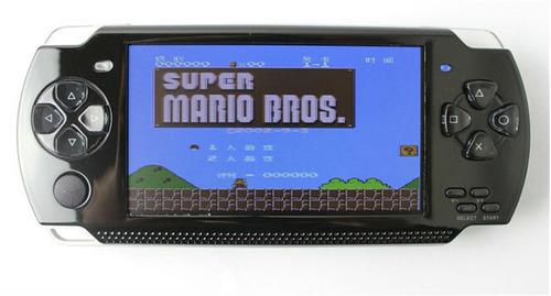 video game portátil multimedia player mp3 mp4 mp5 com jogos