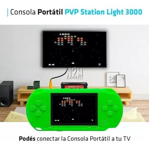 video game portátil psp pvp  digital recarregável conecta tv super mario contra varios jogos