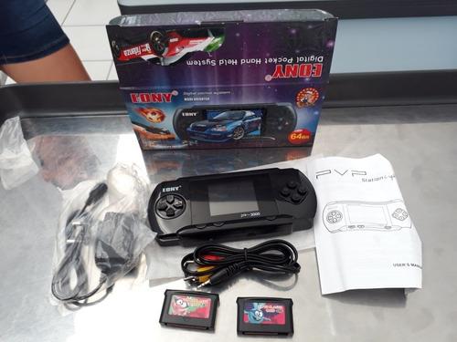 vídeo game portátil pvp station light 3000 jogos