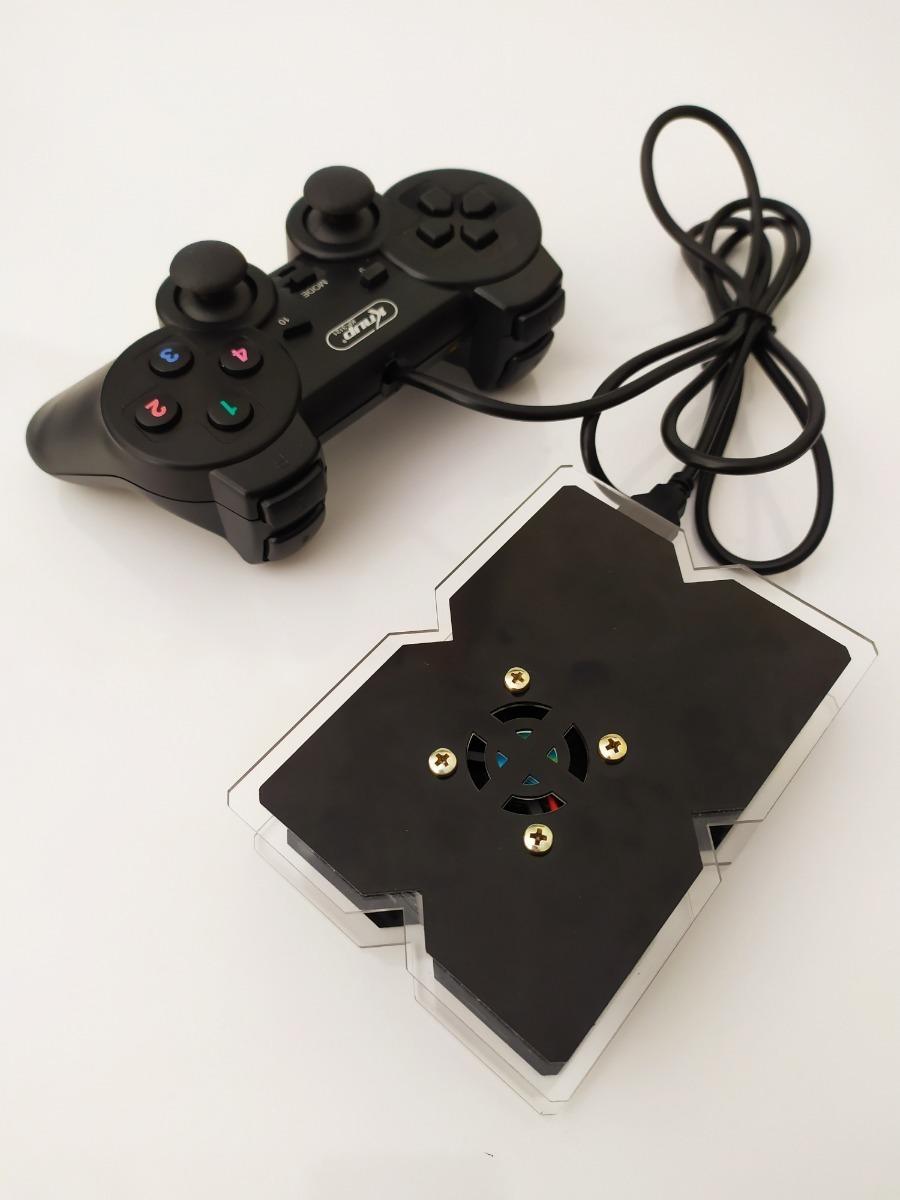 Vídeo Game Retrô 32gb 8212 Jogos Retropie 1 Controle Usb
