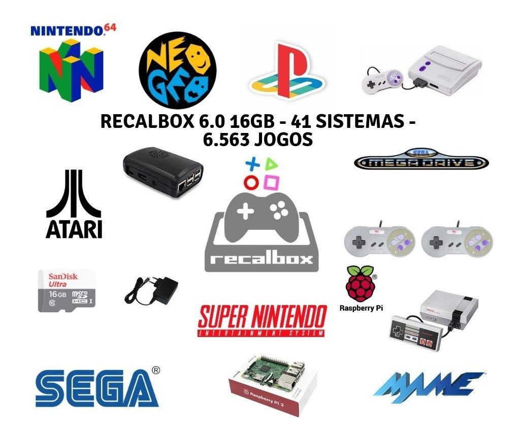 16gb Recalbox Image