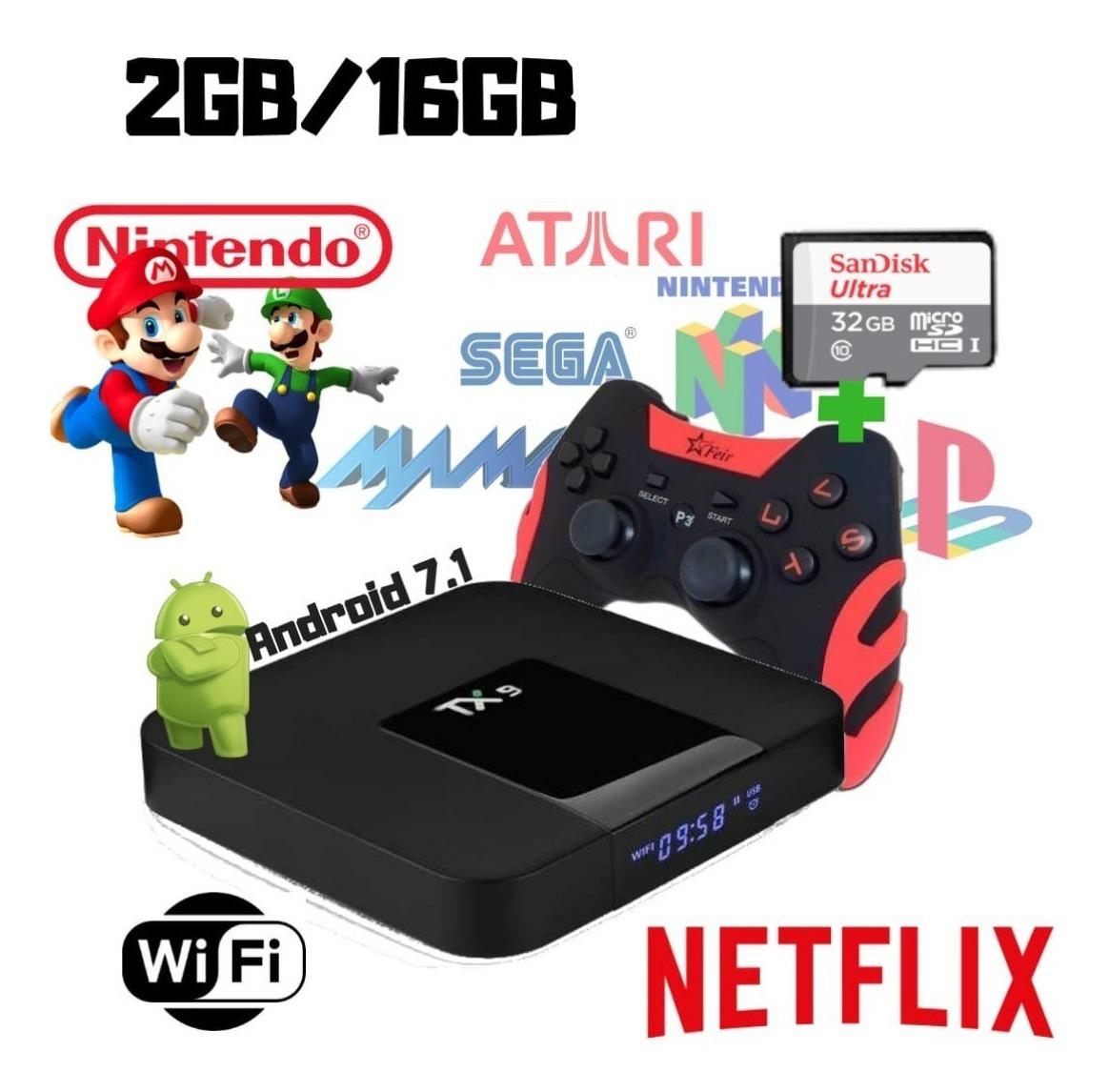 Video Game Retro Smart Emulador Multi Jogo Nostalgia