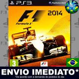 Ps3 F1 2014 Código Psn Dublado Português Envio Agora