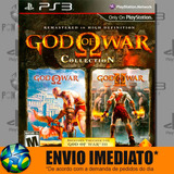 God Of War Collection Ps3 Código Psn Promoção