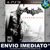 Batman Arkham City - Ps3 - Cód Psn - Pt Br - Mídia Digital