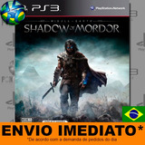 Middle Earth Shadow Of Mordor Legion Edition Ps3 - Português