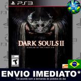 Ps3 Dark Souls 2 Scholar Of The First Sin Psn Pronta Entrega