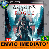 Ps3 Assassins Creed Rogue Ps3 Digital Psn Português Promoção