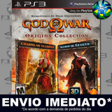 God Of War Origins Collection Ps3 Código Psn Envio Imediato