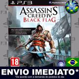 Assassins Creed 4 Black Flag - Ps3 - Português - Código Psn