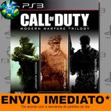 Ps3 Call Of Duty Modern Warfare 1 2 3 Psn Envio Agora