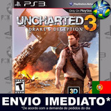 Ps3 Online Pass Uncharted 3 Drakes Deception Código Psn