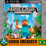 Minecraft Ps3 Edition - Ps3 - Psn - Português - Promoção !!
