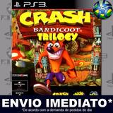 Ps3 Crash Bandicoot 1 2 3 Código Psn Envio Agora