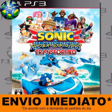 Sonic & All Stars Racing Transformed - Ps3 - Código Psn