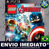 Lego Marvels Avengers Ps3 Código Psn Potuguês Envio Agora