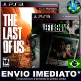 The Last Of Us + Dlc Left Behind - Ps3 - Psn - Promoção !!