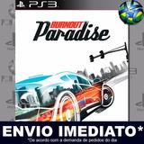Burnout Paradise Ps3 Código Psn Promoção